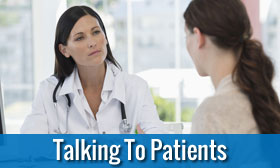 Help Talking To Patients